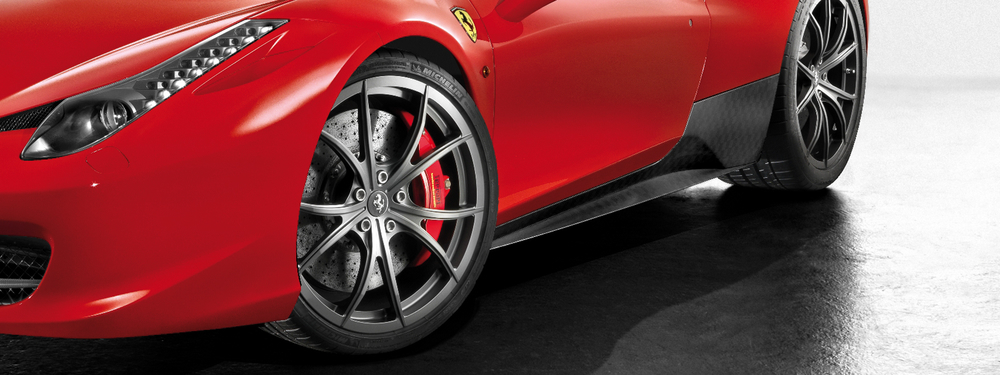 Genuine Accessories For The Ferrari 458 Scuderia Car Parts