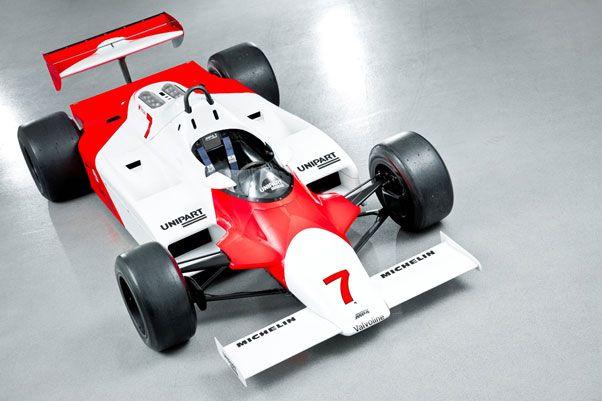 Cutting Edge: The 1981 MP4/1 Formula One car