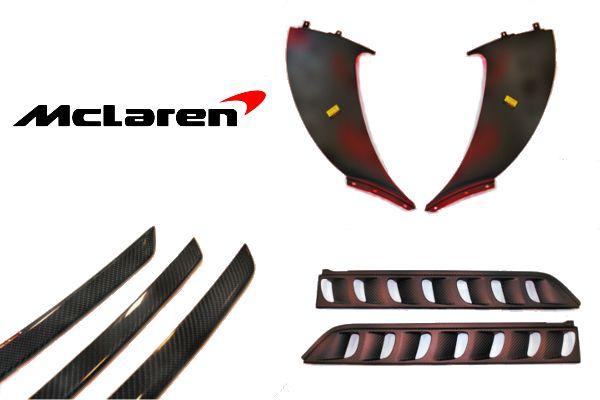 McLaren MP4-12C Carbon Fibre parts