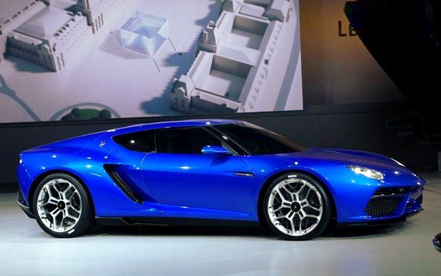 This is what the Asterion looks like side on