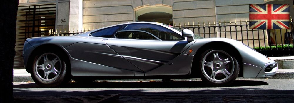 A beautiful Silver Arrow: The McLaren F1