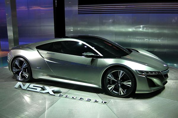 This is what the first concept car looked like in 2012